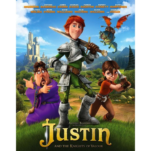 Justin and the Knights of Valour [Blu-ray+DVD]