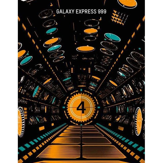 Galaxy Express 999 Matsumoto Leiji 60th Career Anniversary Blu-ray Box 4
