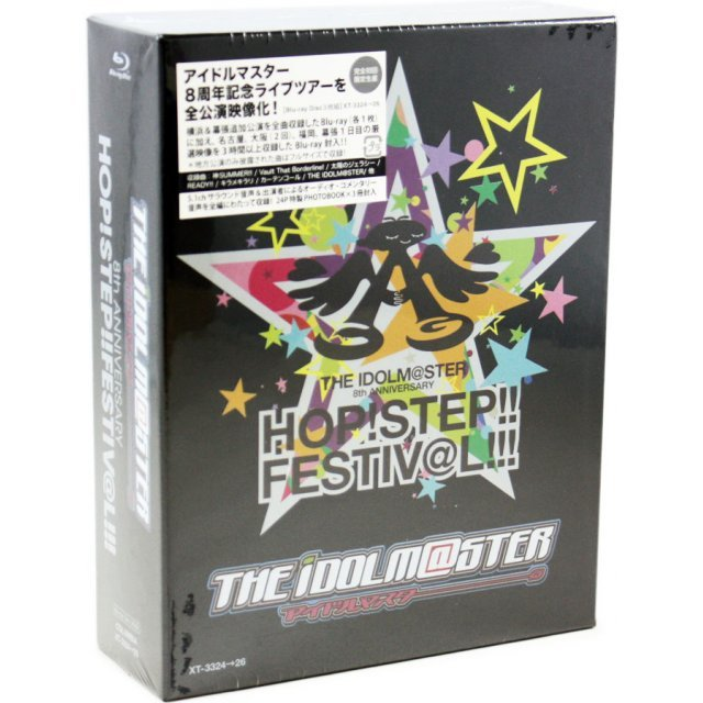 Idolmaster 8th Anniversary Hop Step Festival Blu-ray Box [Limited Edition]