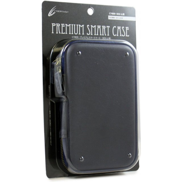 Cyber Premium Smart Case for 3DS LL (Navy)