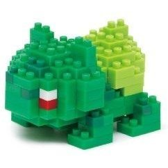 Nanoblock NBPM-003 Pokemon: Bulbasaur (Re-run)