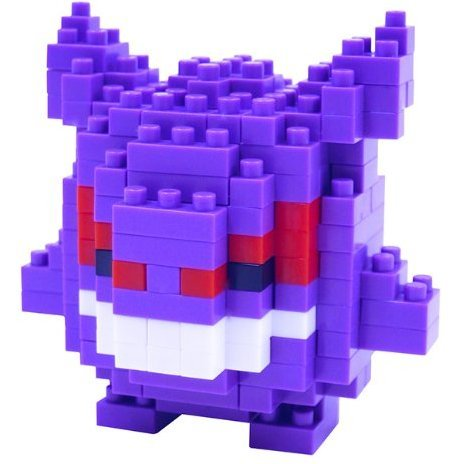 Nanoblock NBPM-007 Pokemon: Gengar (Re-run)