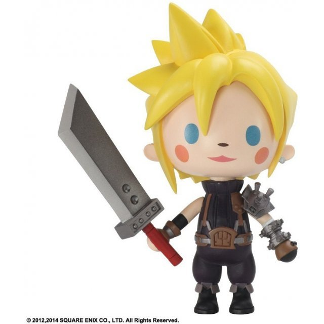 Theatrhythm Final Fantasy Static Arts Mini Figure: Cloud Strife