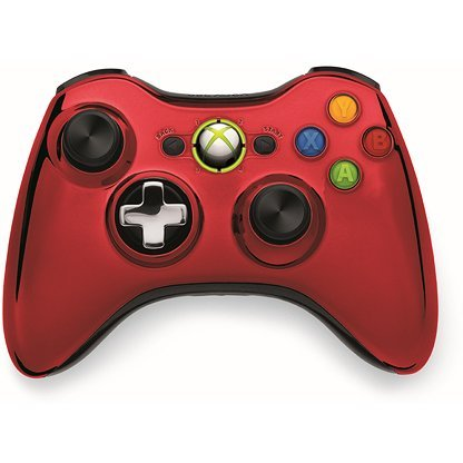 Xbox 360 Wireless Controller SE (Chrome Red)