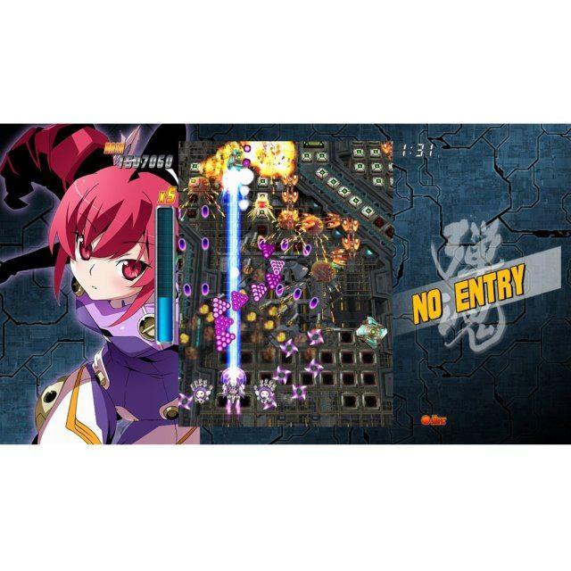 Bullet soul infinite burst limited edition xbox 360 japan region.