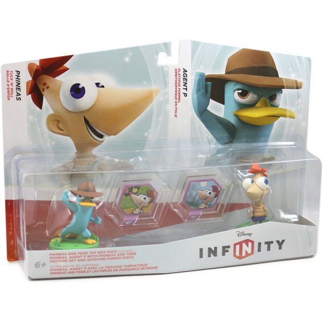 Disney Infinity: Phineas and Ferb Toy Box Set