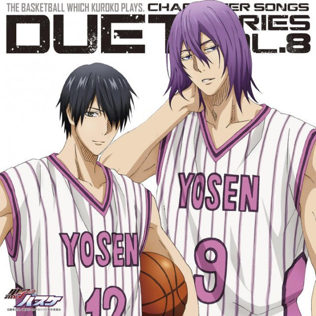 Kuroko's Basketball Character Song Duet Series Vol.8