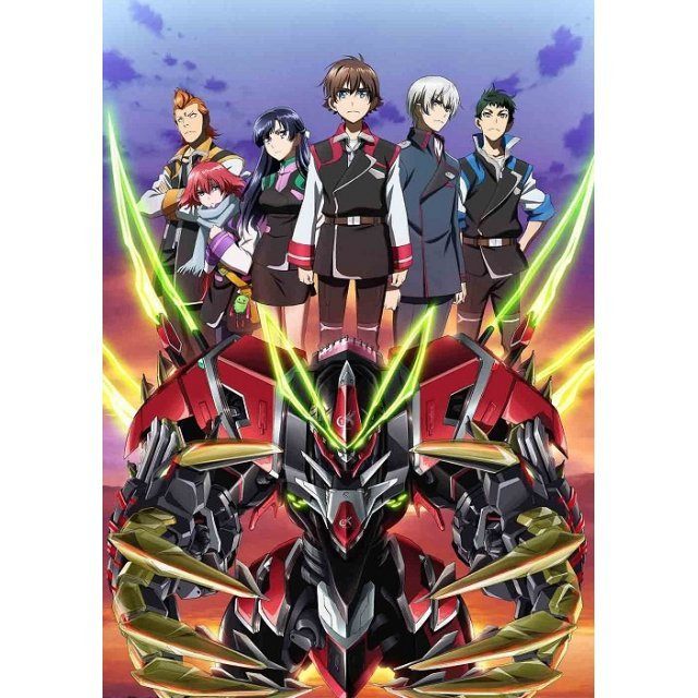 Valvrave The Liberator 2nd Season Vol.5 [Blu-ray+CD Limited Edition]