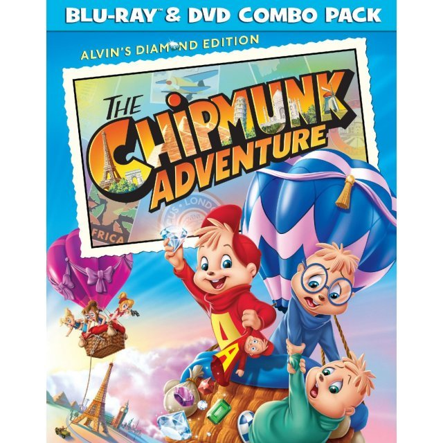 The Chipmunk Adventure [Blu-ray+DVD]