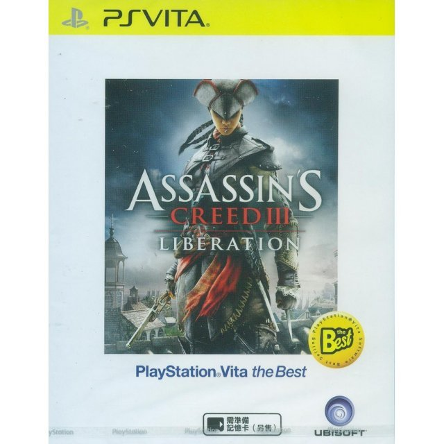 Assassin's Creed III: Liberation (Playstation Vita the Best) (English)