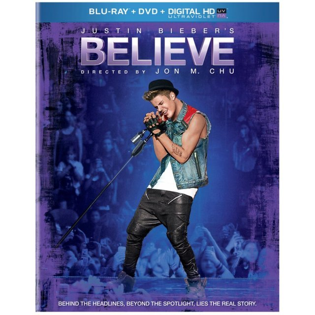 Justin Bieber's Believe [Blu-ray+DVD+Digital Copy]