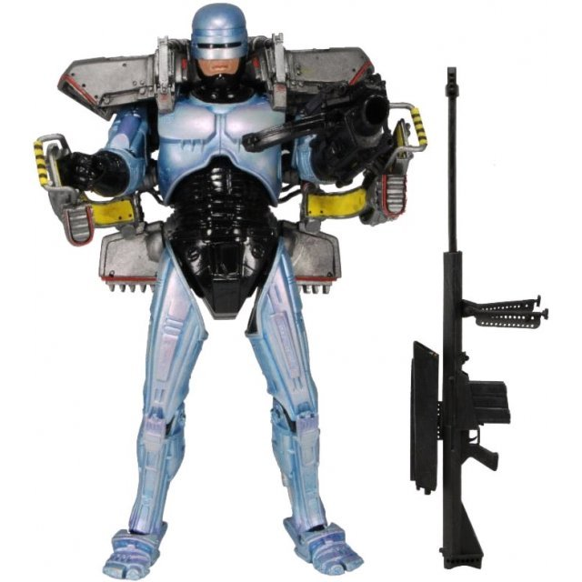 Robocop 7 Inch Ultra Deluxe Figure: Robocop with Jetpack & Assault Cannon