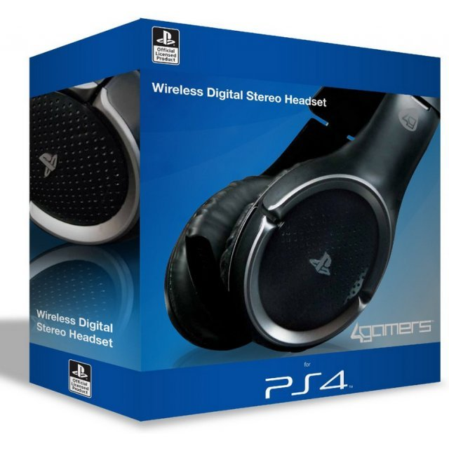 4Gamers Wireless Stereo Gaming Headset (PS4)