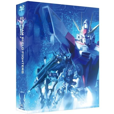 Gundam Build Fighters Blu-ray Box 2 High Grade Edition [Limited Edition]