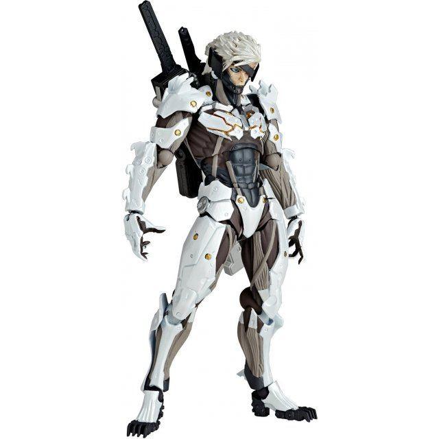 Revoltech Yamaguchi Series No.140EX Metal Gear Solid Rising Revengeance: Raiden White Armor