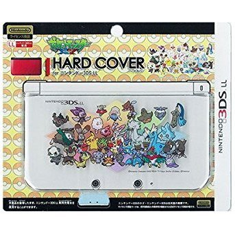Pokemon Hard Cover for 3DS LL (Pikachu & New Pokemon)