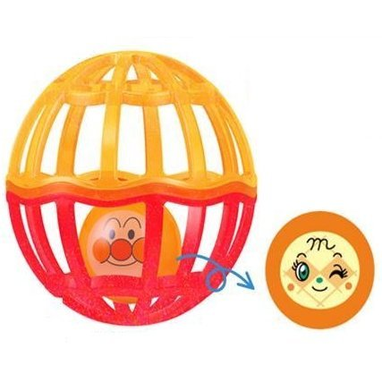 Anpanman Orange Ball with Strap