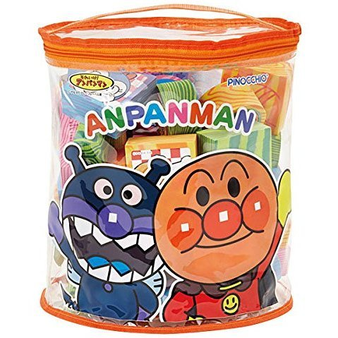 Anpanman Safe Building Block (Large)