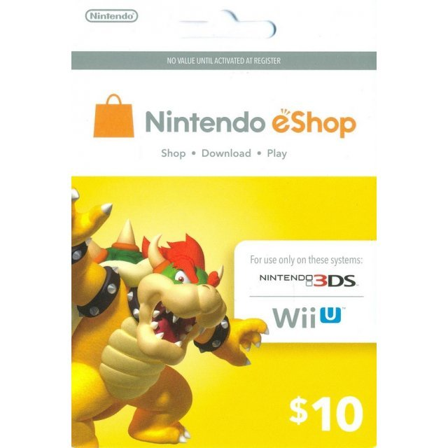 Nintendo Prepaid Card (US$10 / for US network only)