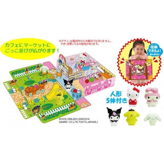 Sanrio Characters Package Cafe and Market Your Mise-ya