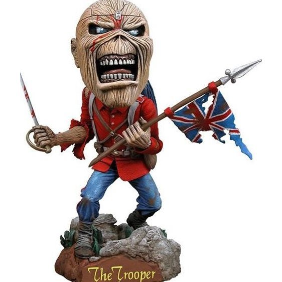 NECA Iron Maiden Head Knocker Studio: Eddie Trooper (Re-run)