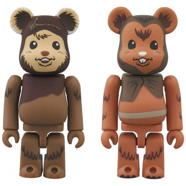 Be@rbrick Star Wars: Wicket & Romba 2 Pack