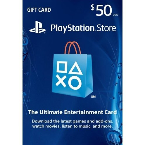 PSN Card 50 SAR | Playstation Network Saudi Arabia