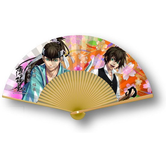 Hakuouki Folding Fan: Todo Heisuke
