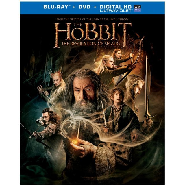 The Hobbit 2: The Desolation of Smaug [Blu-ray+DVD+Ultraviolet]