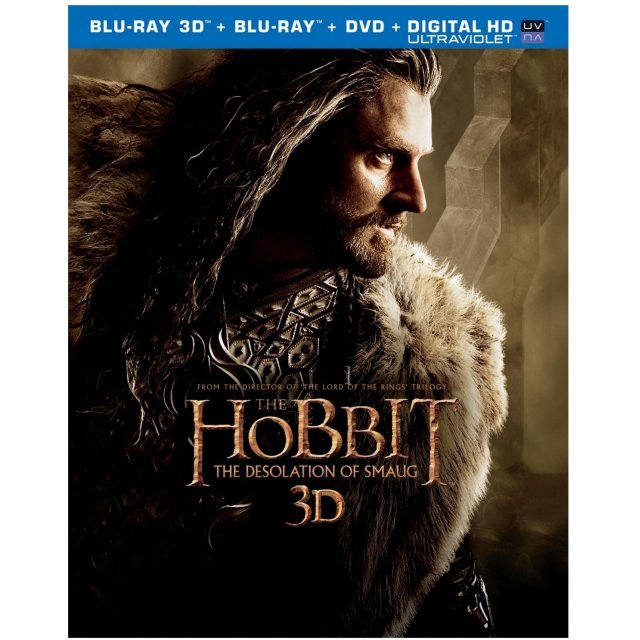 The Hobbit 2: The Desolation of Smaug [Blu-ray+Blu-ray3D+DVD+UltraViolet]