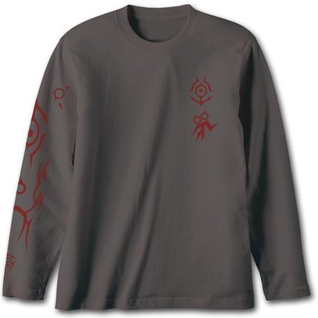 Arpeggio of Blue Steel -Ars Nova- Vinyl Long Sleeve T-Shirt Charcoal S: Takao (Re-run)