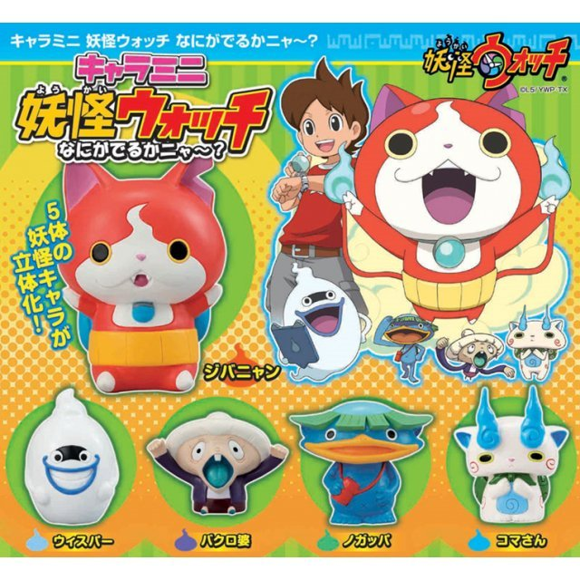 Chara Mini Youkai Watch Naniga Derukanya?