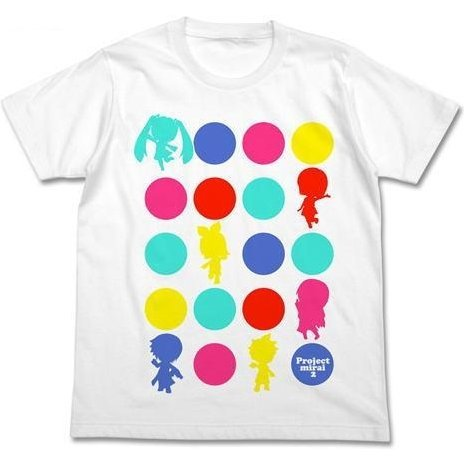 Project Mirai 2 Graphic T-Shirt White S (Re-run)