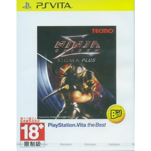 Ninja Gaiden Sigma Plus (Playstation Vita the Best) (English Sub)
