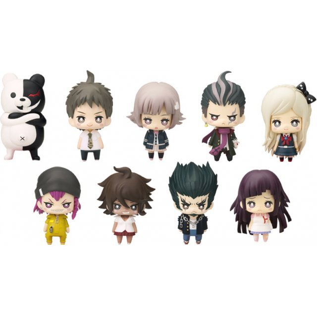 One Coin Mini Figure Collection: Super Dangan Ronpa 2 Chapter 01 (Set of 9 pieces) (Re-run)