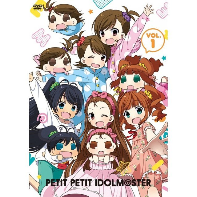 Puchimas - Petit Petit The Idolmaster - Vol.1