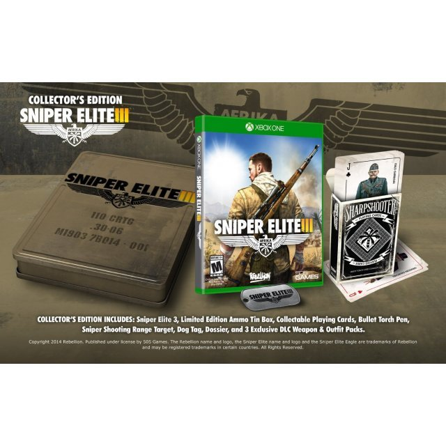 Sniper Elite III (Collector's Edition)