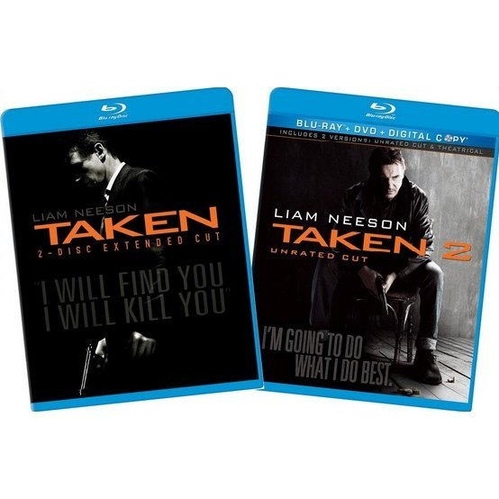 Taken / Taken 2 [Blu-ray+DVD+Digital Copy]