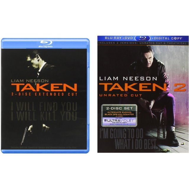 Taken / Taken 2 (Unrated Cut)