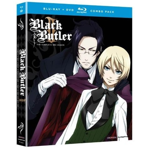 Black Butler: Complete Second Season [Blu-ray + DVD Combo Pack]
