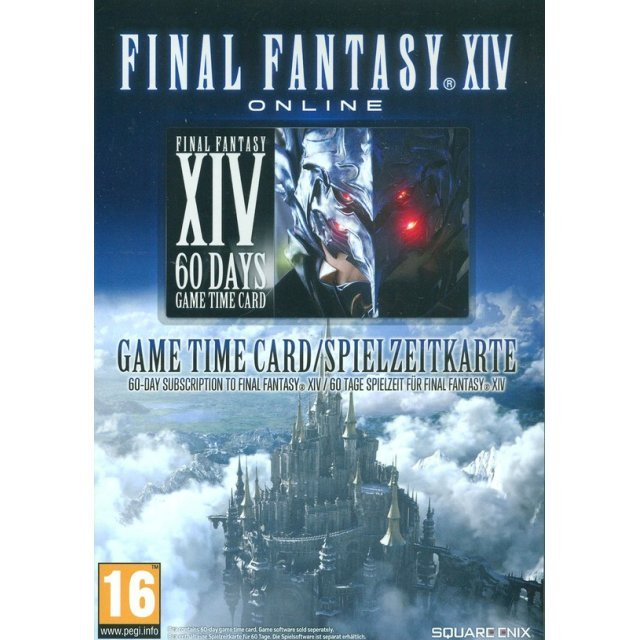 Final Fantasy XIV: A Realm Reborn [60-Day Game Time Card] (EUROPE REGION ONLY)