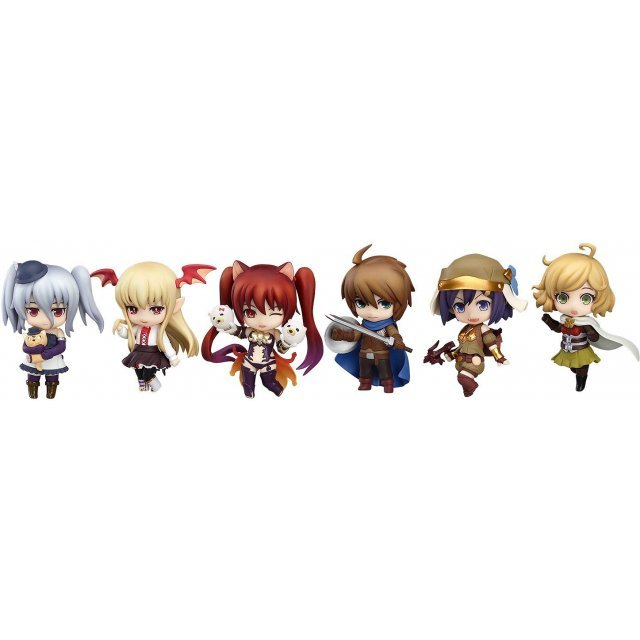 Nendoroid Petite: Rage of Bahamut (Set of 8 pieces)
