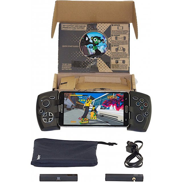 Phonejoy Bluetooth Game Controller (Black) (Advanced Bundle)