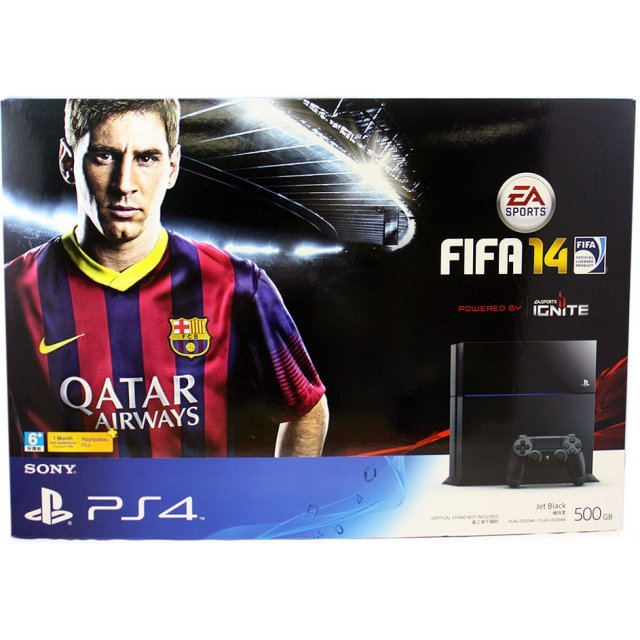 PlayStation 4 System - FIFA 14 Bundle Set (Jet Black)