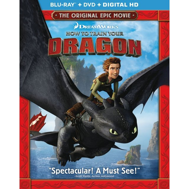 How to Train Your Dragon [Blu-ray+DVD+DigitalCopy]