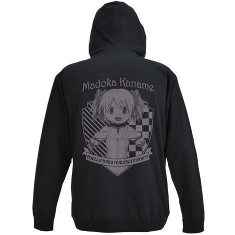 Puella Magi Madoka Magica The Movie Part 3 Rebellion Parka Black L: Madoka Kaname