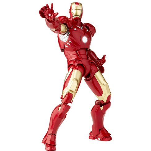 SCI-FI Revoltech Series No.036 Iron Man: Mark 3 (Re-run)