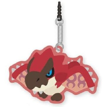 Monster Hunter Rubber Mascot Cleaner: Liolaeus