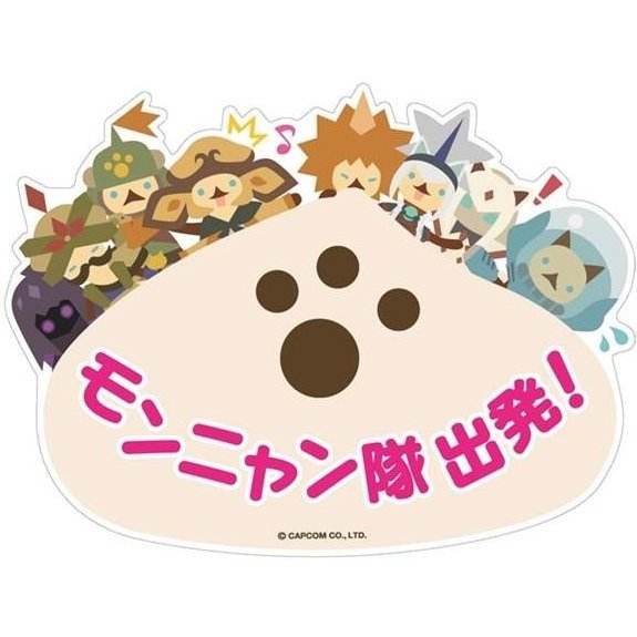 Monster Hunter Sticker Collectio: Mon-nyan Corps Starting!