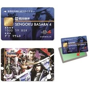 Sengoku Basara 4 IC Card Sticker: Busho Assembly
